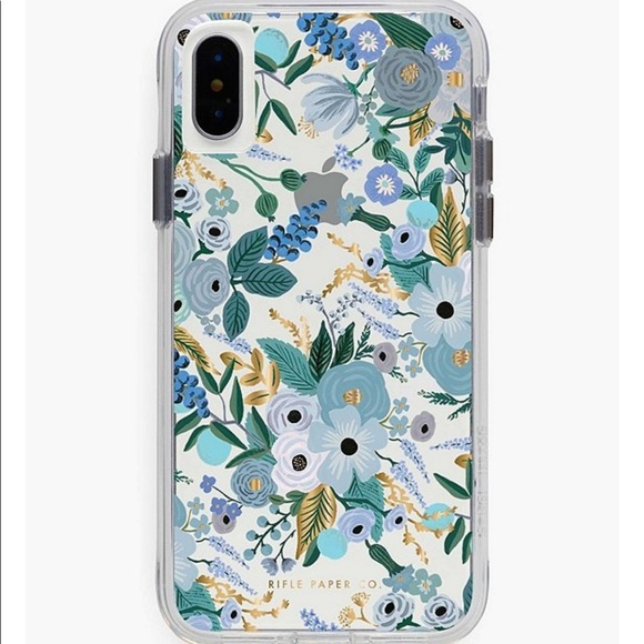 Anthropologie Rifle paper co floral phone case